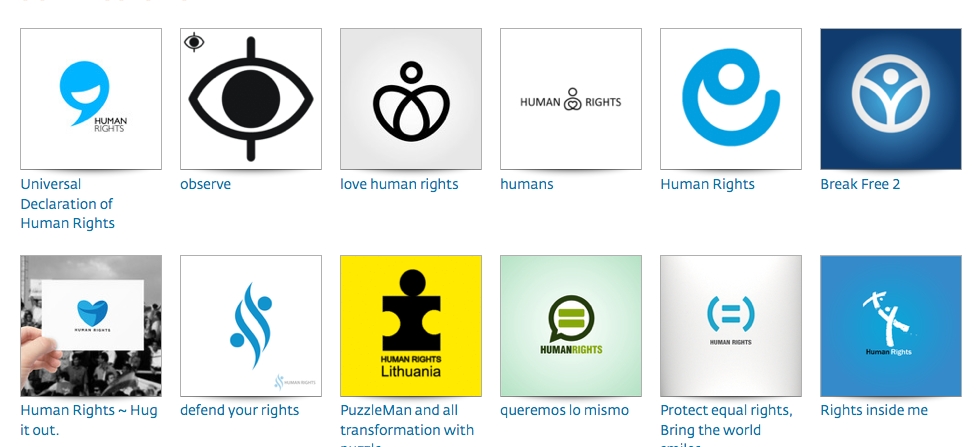 Updates On Human Rights Logo Initiative Jovoto