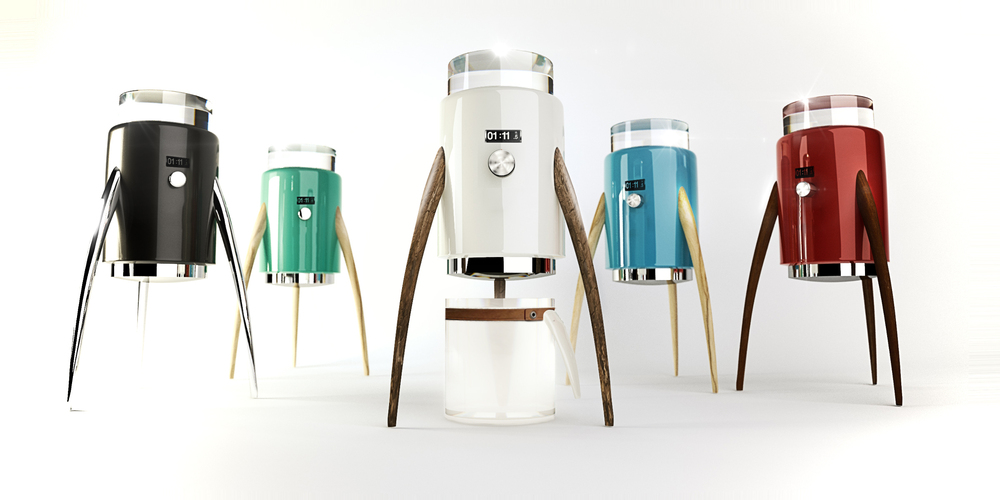 Who Diddnt Love This Futuristic Design By Hangyel Wouldnt Want A Flying Coffee Machine We Fell In Thank You