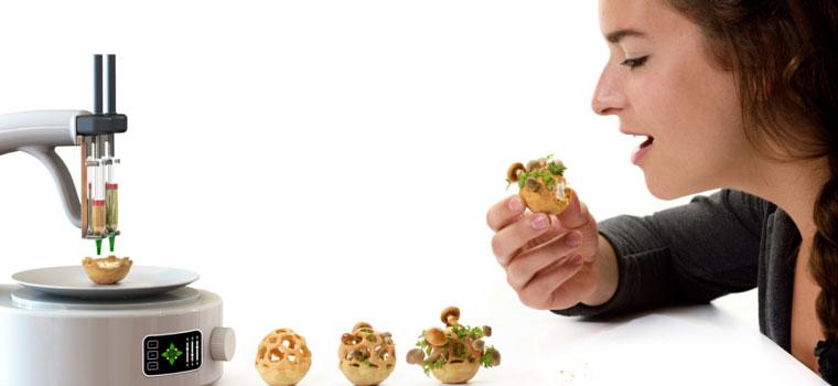 Edible Growth by Food Designer Chloé Rutzerveld