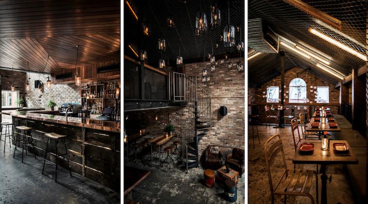 Award Winning Architecture And Interior Design Firm Luchetti Krelle Designed Donnys Bar In Sydney