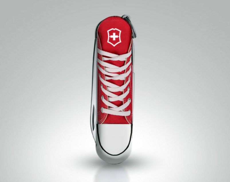 One of Jorge's design for Victorinox that was sold in Victorinox shops worldwide.