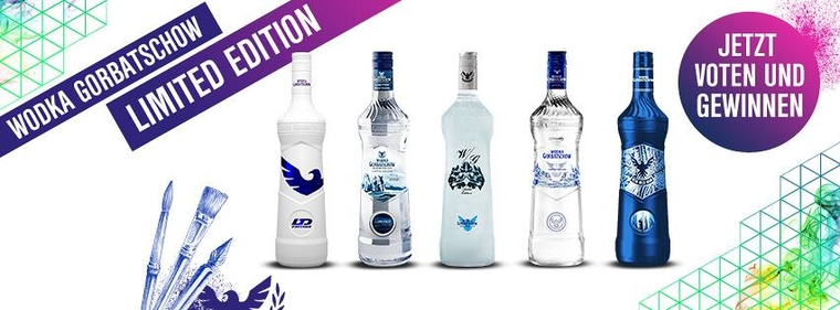 Wodka Gorbatschow Limited Edition Vote