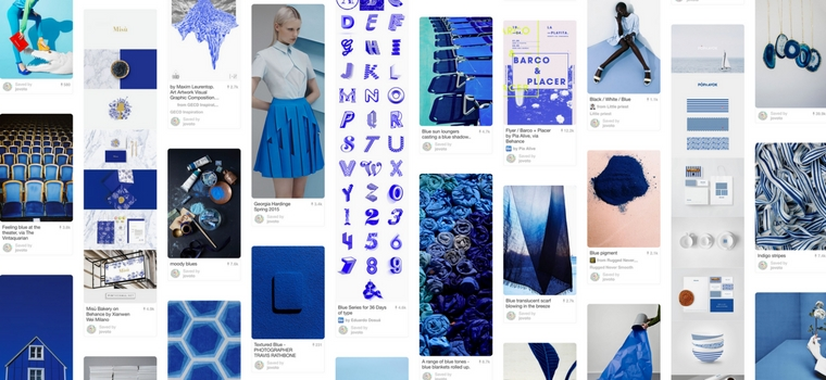 jovoto on Pinterest - blue