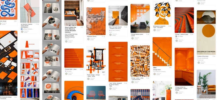 jovoto on Pinterest - orange