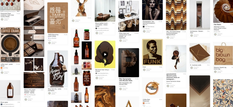 jovoto on Pinterest - brown