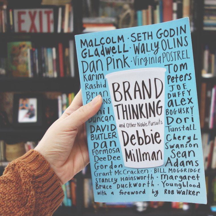 Brand Thinking and Other Noble Pursuits Paperback by Debbie Millman - photo: www.useallfive.com - Beyond portfolios: 5 ways to make a name for yourself as a designer