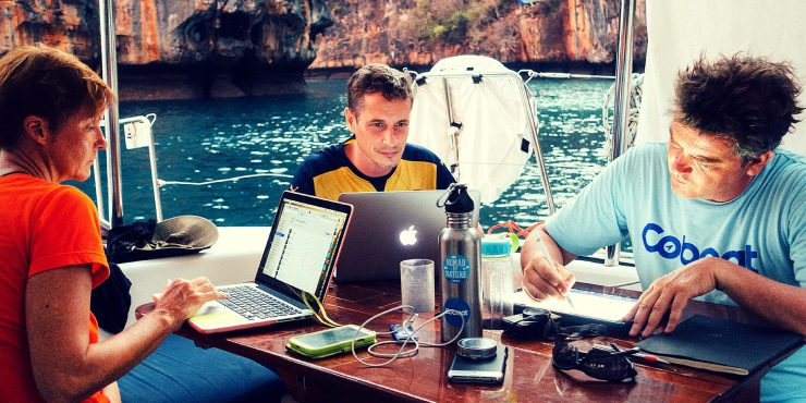 Coworking on Coboat