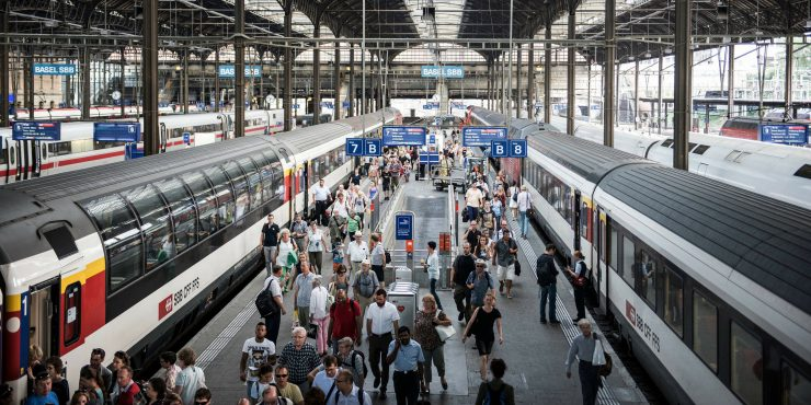 Swiss Federal Railways cocreates train station architecture with jovoto